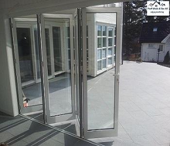 Foldedør aluminium